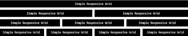 Simple Responsive Grid
