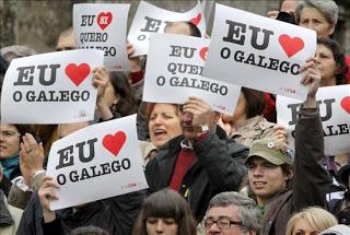 Manifestación Queremos Galego 2009