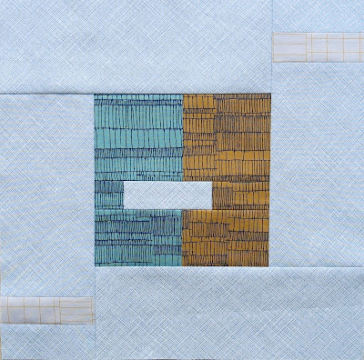 Modern sampler quilt - Block #12 - Inspired by Tula Pink City Sampler