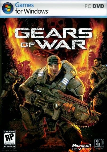 Gears Of War PC Game Cover