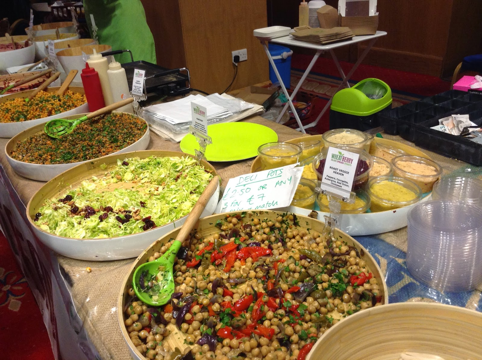 Wheatberry at the North East Vegan Festival 2014