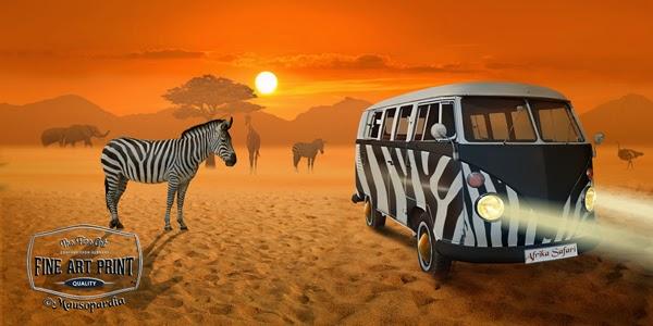 http://www.fineartprint.de/bilder/streifenbegegnung-afrika-safari-,11289524.html