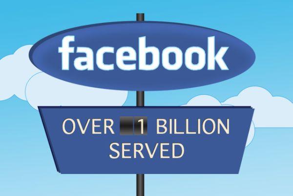 Pengguna Facebook 1 Billion Sehari