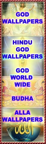GOD WALLPAPERS (CHRISTIAN, HINDU, MUSLIM GOD WALLPAPERS)