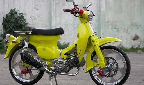 Foto dan Gambar Modifikasi Honda C70 Keren Terbaru