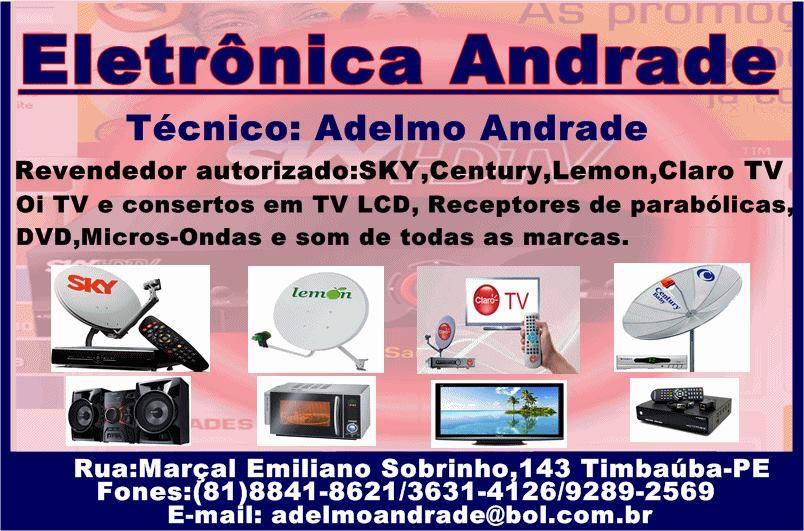 ELETRÔNICA ANDRADE: Adelmo Andrade