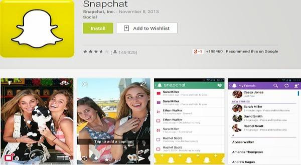 Pengguna Snapchat Tidak Nyaman karena Banyak Spammer