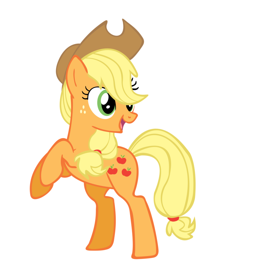 5594 applejack my little - photo #13