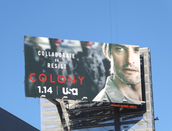 Josh Holloway Colony series billboard