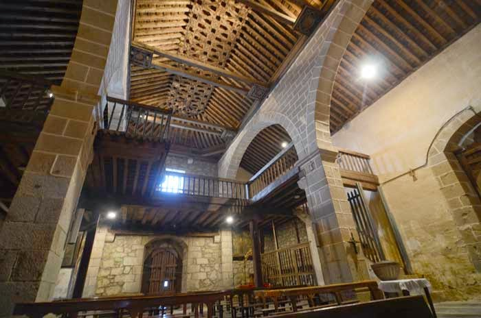 église del robledo  Sequeros