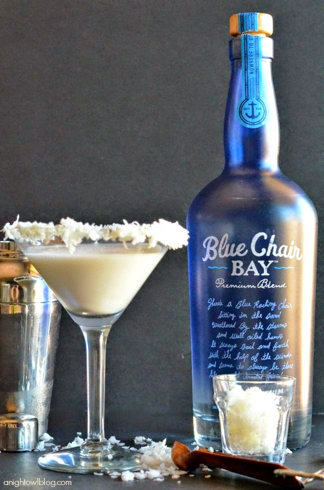 oz blue chair bay coconut rum 2 oz half and half tsp vanilla