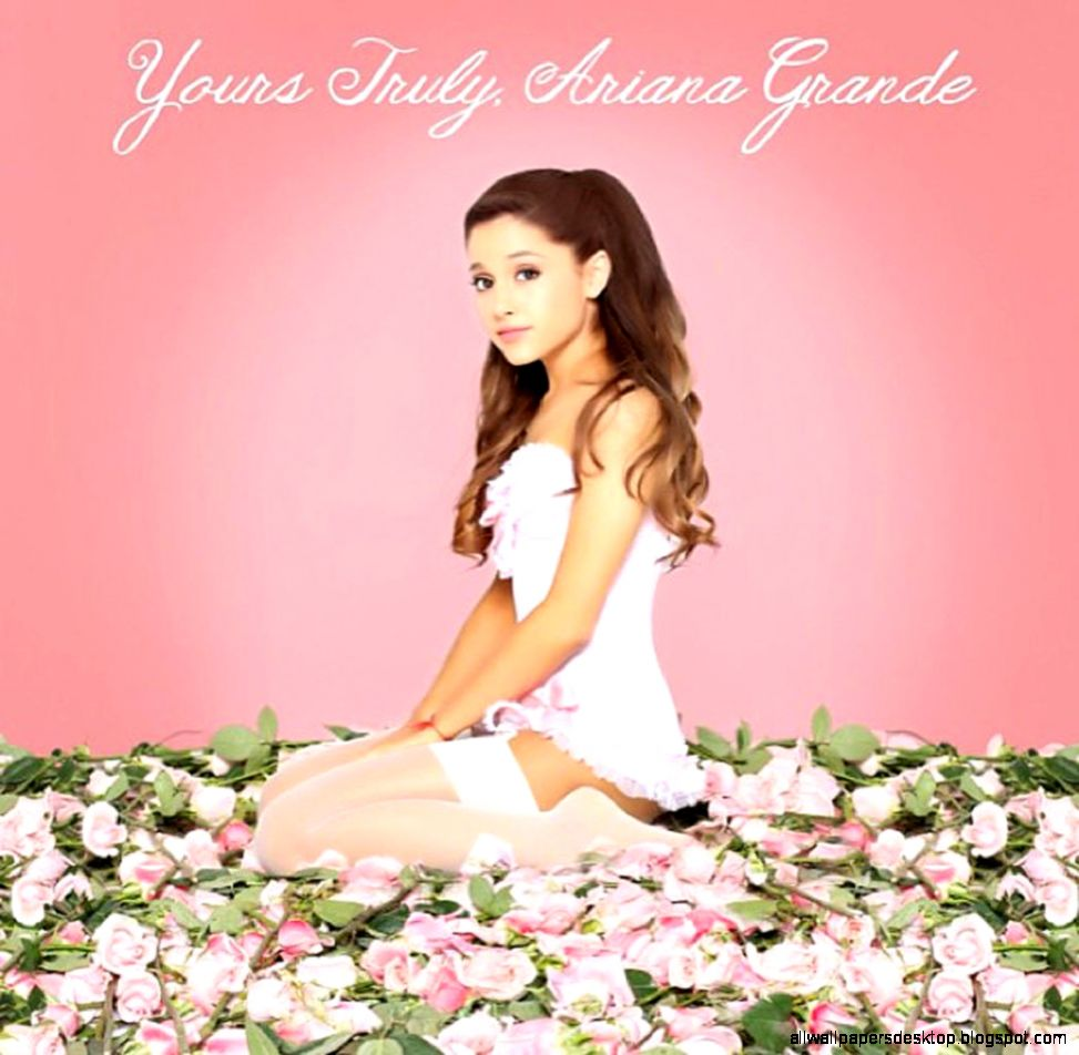 Ariana Grande Yours Truly Album Cover