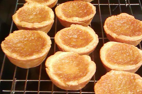 Maple + Butter = Ooey Gooey Canadian Tarts!