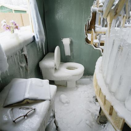 baño tras glaciacion