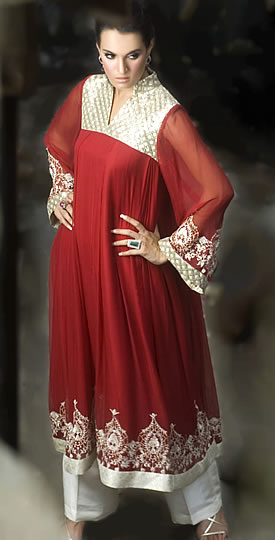 Beautiful Anar kali Dresses Designs & Pics !