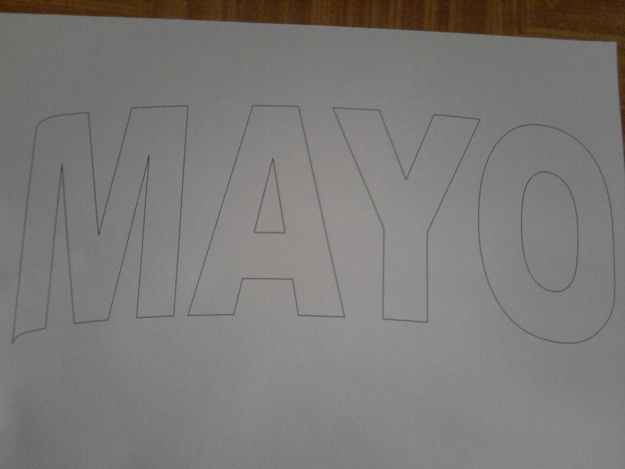 Aprendiendo con banialafresita: En foami girasoles-calas y letras del mes  de mayo con patrones .