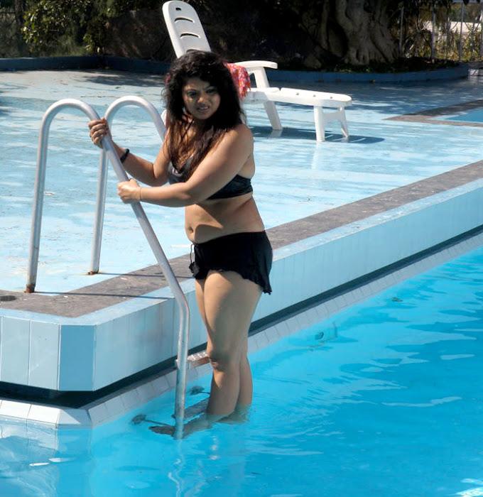 mallu auntie swathi verma spicy swimsuit photo gallery