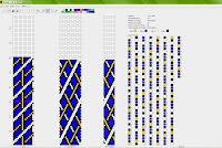 beaded crochet rope pattern