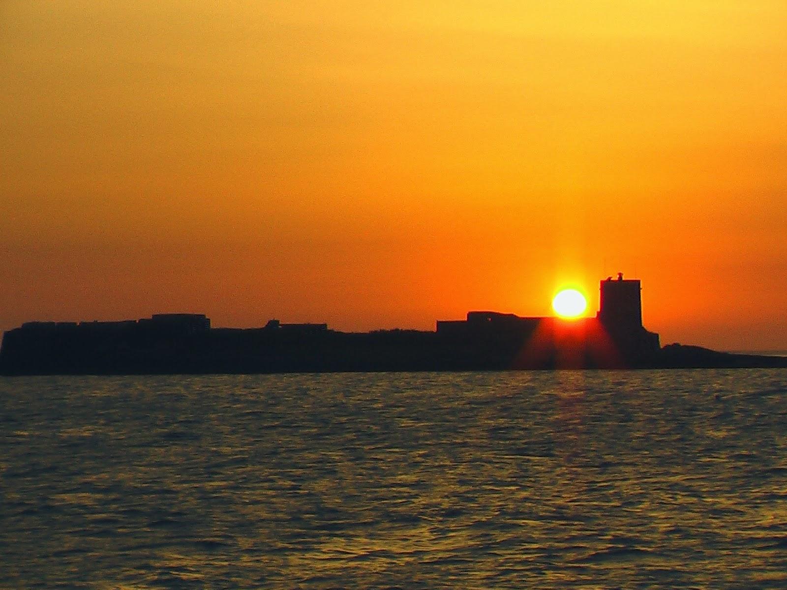 Castillo de Sancti - Petri, Chiclana, de las playas más tranquilas de Cádiz