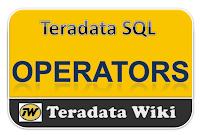 TeradataWiki-Teradata Operators