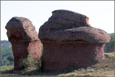 Pináculos rocosos (Chequilla)