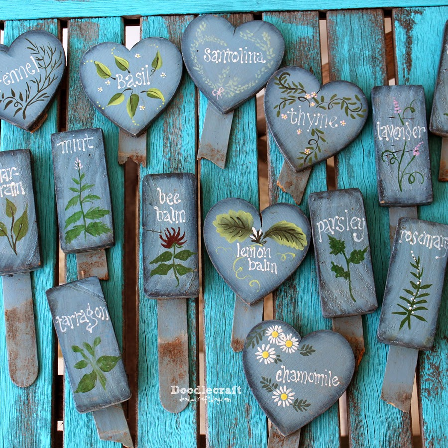 http://3.bp.blogspot.com/-fI8N2hRokqs/U423dddzRwI/AAAAAAAAnwE/--c9-WzUeHA/s1600/painted+heart+and+2+by+4+garden+markers+herbs+vegetables+tardis+doctor+who+silly+planter+stakes+(1).JPG