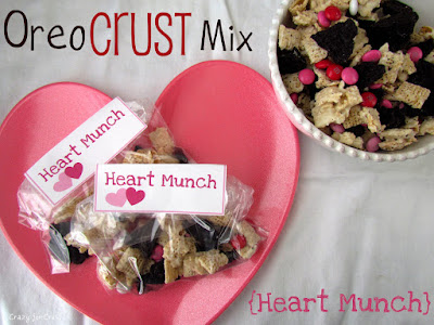 Recipe: Oreo crust mix (Heart Munch)