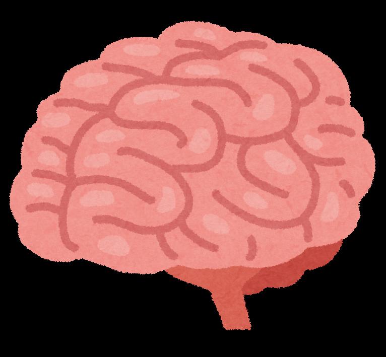ピンク色でしわだらけの脳みそ ... : 年賀状 フリー 2015 : 年賀状