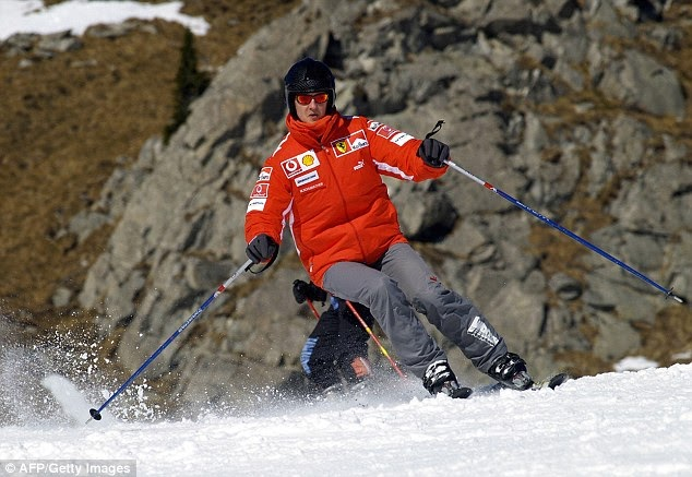 Michael Schumacher Is Fighting For His Life After He Fell And Hit His Head While Skiing With His Son In The French Alps