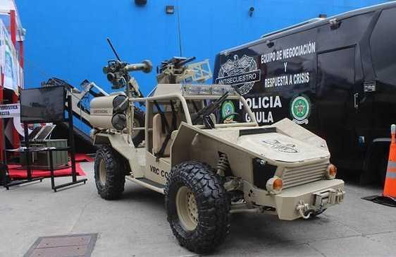 Militer Kolombia Ciptakan Kendaraan Pengintaian VRC Cobra 4x4