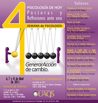 Conferencia Magistral Psicoanálisis del poder en México y taller Esquizofrenia