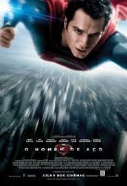 """Poster do filme """"O Homem do Aço"""""""