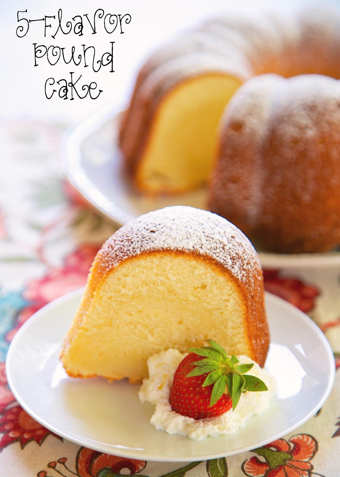 Watkins five flavor cake recipe