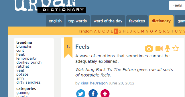 Introducing foodie feels for Cuisine urban dictionary