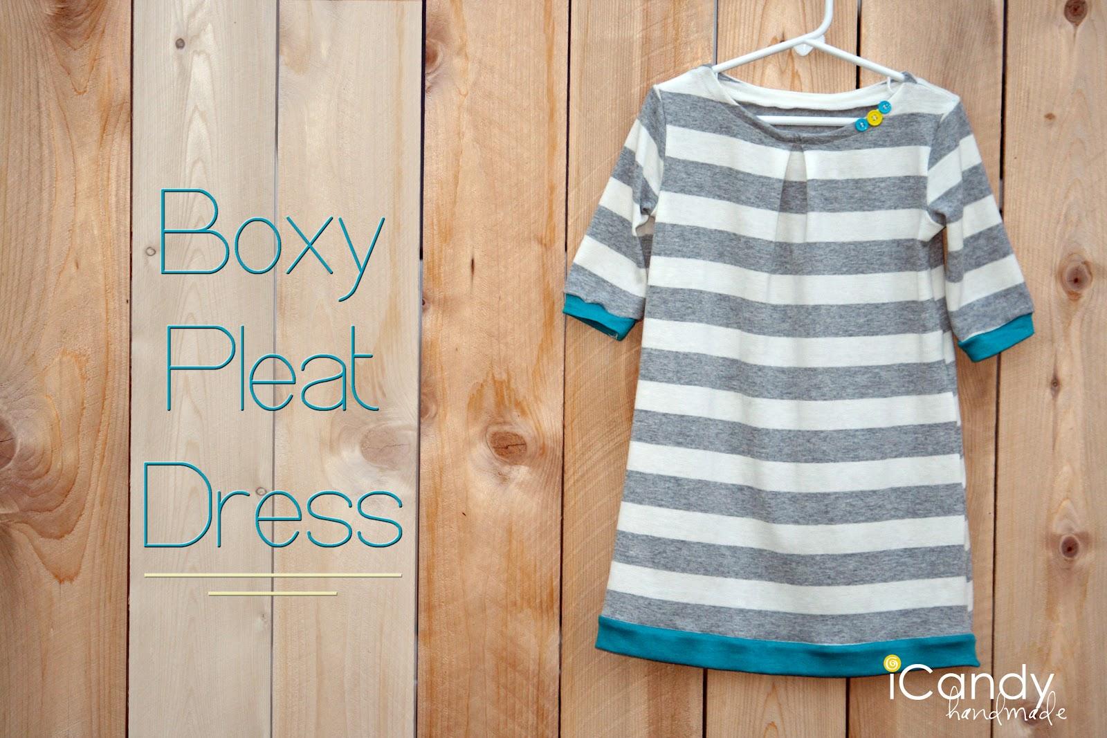 Diy boxy pleat dress icandy handmade diy boxy pleat dress jeuxipadfo Choice Image