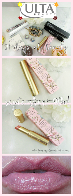 Too Faced La Creme Color Drenched Lip Cream Nude Beach Review notesfrommydressingtable.com