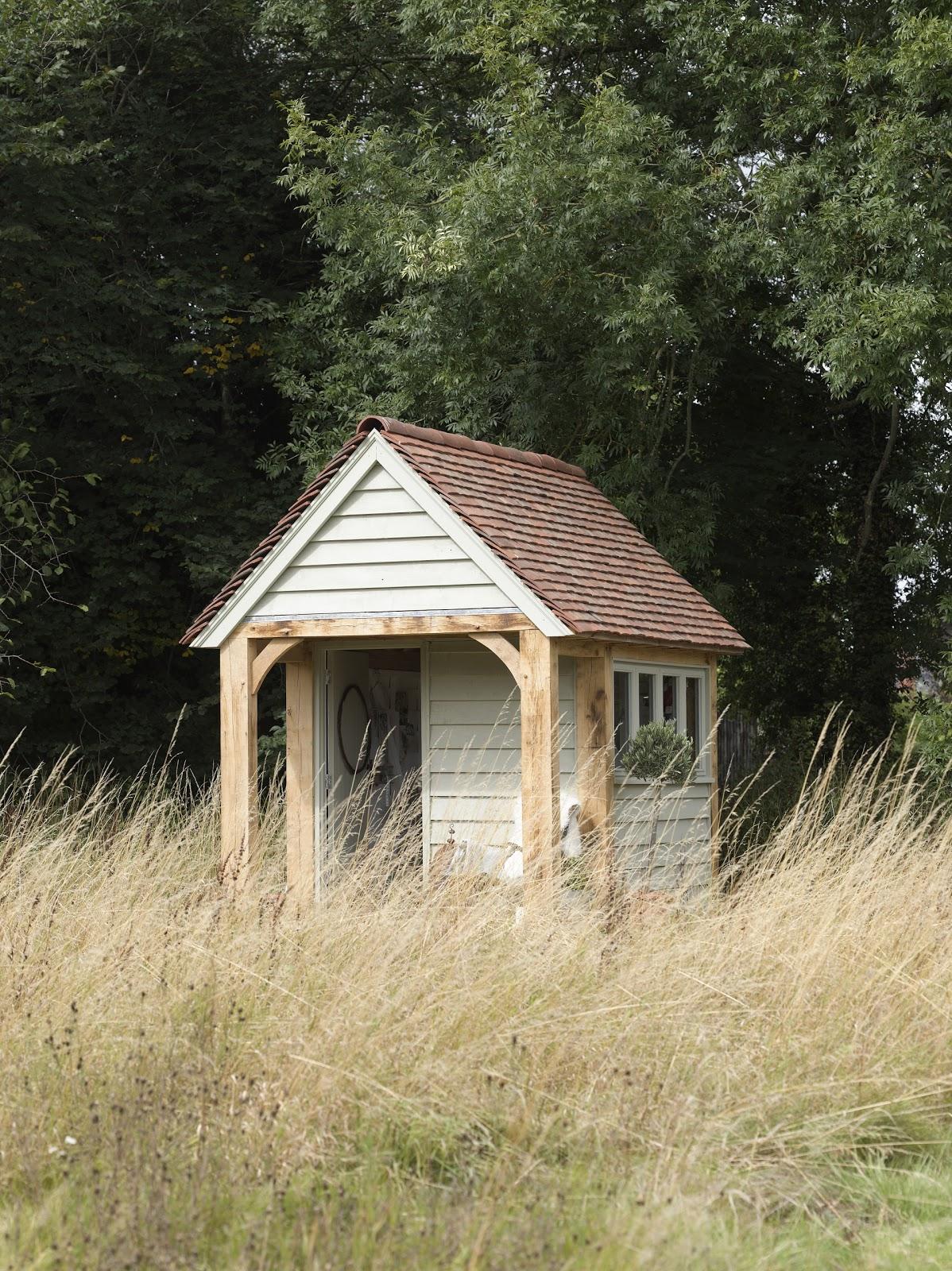 From little acorns oak potting shed for Potting shed