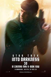Zachary Quinto Star Trek Poster