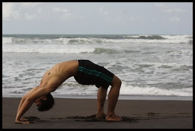 Yoga on the beach 3