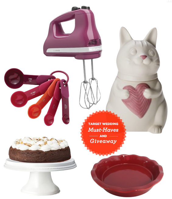 Fab must-haves for your Target Wedding registry and a great giveaway. | Sweet Tooth