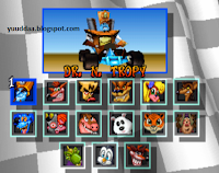 Cheat CTR : Crash Team Racing PS1 Lengkap