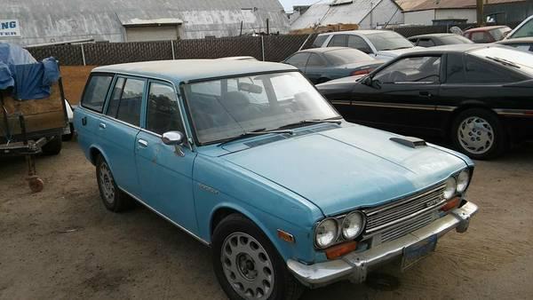 Daily Turismo: SHIFT_classic: 1971 Datsun 510 Wagon
