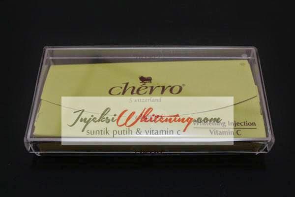 Cherro Whitening Injection, cherro whitening asli, cherro whitening murah, cherro whitening injection vitamin c