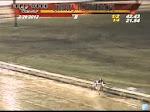 İnanılmaz at yarışı kazası