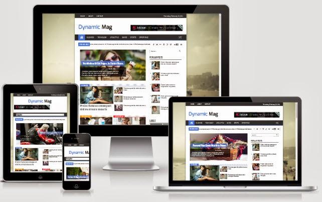 Dynamic mag responsive blogger template template blogger dynamic mag responsive blogger template maxwellsz