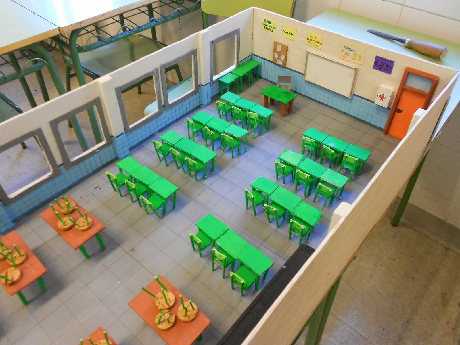 Proyectos pdc maqueta aula taller de tecnolog a for Sillas para una maqueta