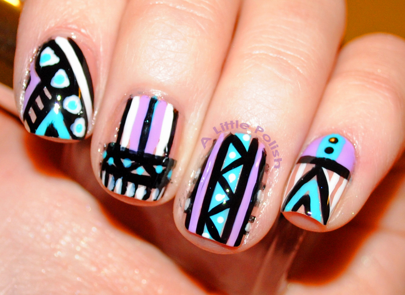 A Little Polish: 31 Day Challenge - Day 16: Tribal