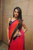 Deeksha panth sizzling saree stills-thumbnail-4