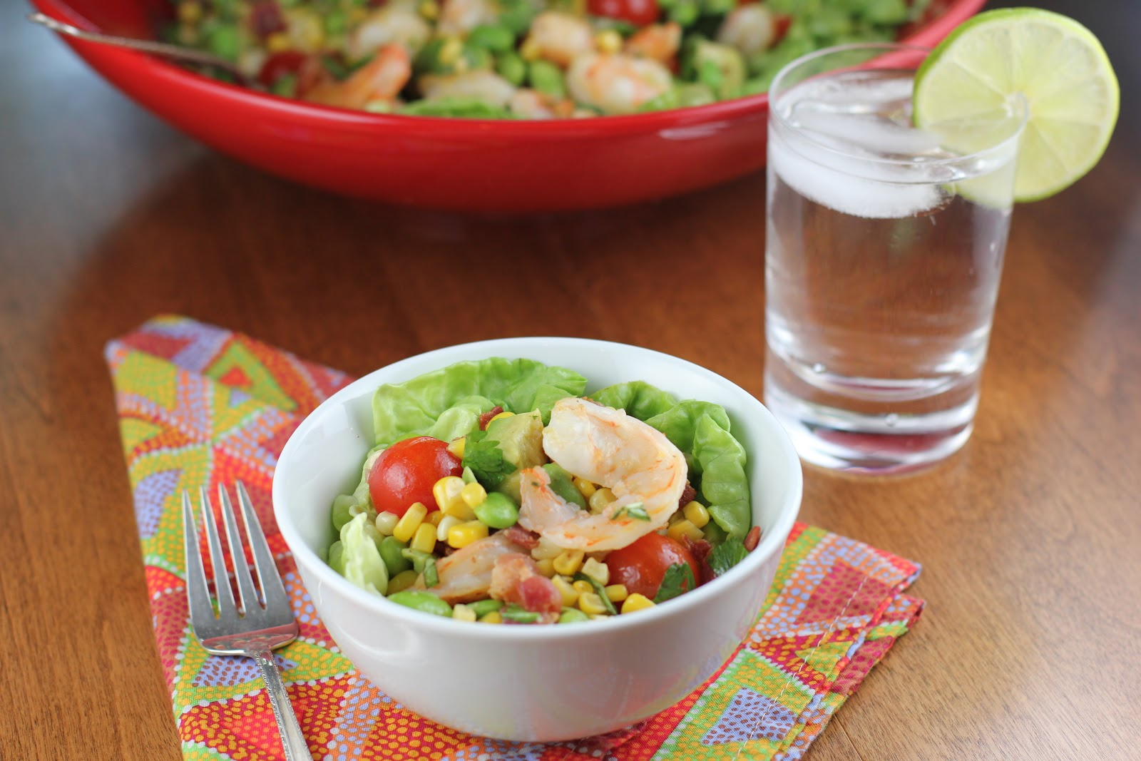 ... Food Advocate: Shrimp Chopped Salad with Corn, Bacon, and Avocado
