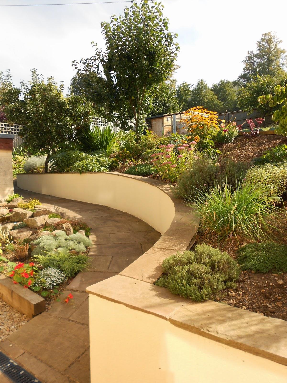 Eliza Gray Gardens - what\'s new in the garden?: Family Garden in Bath